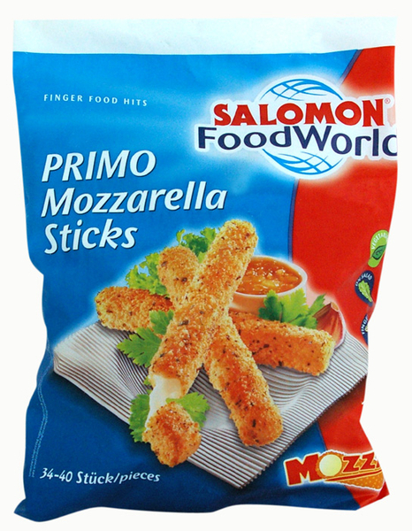 Mozzarella-Sticks Primo Salomon 1kg