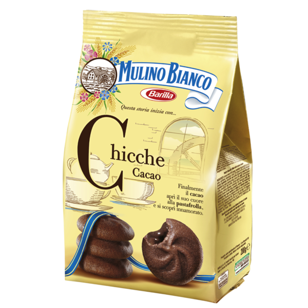 Barilla Chicche Cacao Nr. 1476, 200-g-Beutel